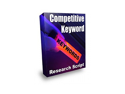 Competitive Keyword Research Script