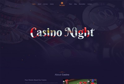 Club House HTML Website Template
