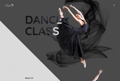 StepUp - Dance Academy Single Page HTML Website Template